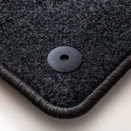 Alfrombras de Moqueta, BMW G12 SERIE 7 LARGO 2015, Color Negro, Calidad Standard, REF: BW0063S5N
