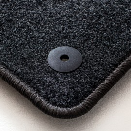 Alfrombras de Moqueta, Audi E-TRON (2019-Presente), Color Negro, Calidad Standard, REF: AD0035S5N